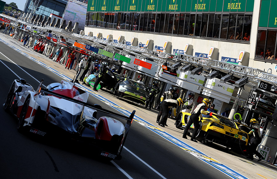 2018 24 Hours of Le Mans Preparations