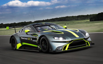 Aston Martin Vantage GT3 GT4 Customer Racing
