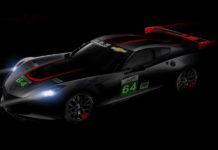 Chevrolet Redline Corvette C7.R WEC Shanghai Race