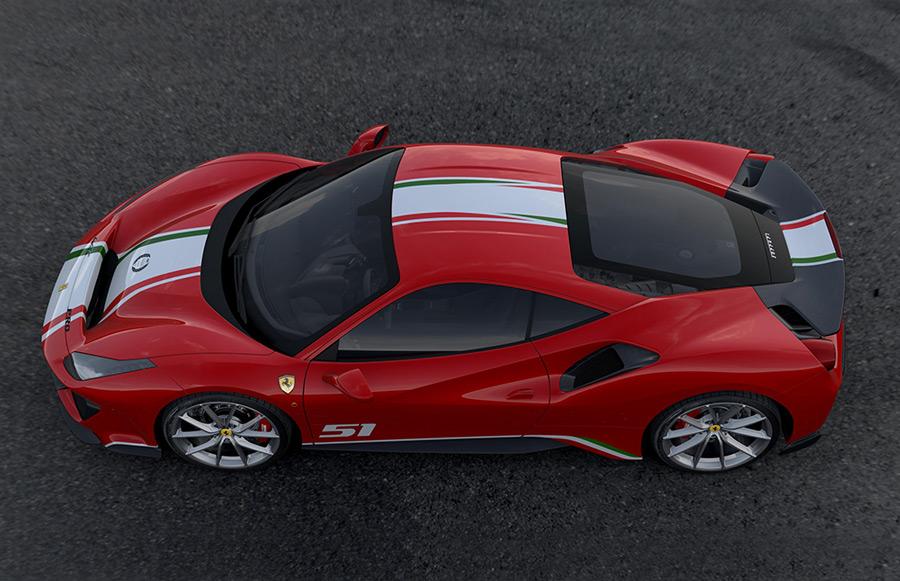 Exclusive Ferrari 488 Pista