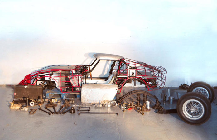 Ferrari 250 GTO Blenheim Palace Car Auction
