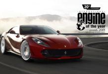 Ferrari turbocharged v8 Voted Best Engine