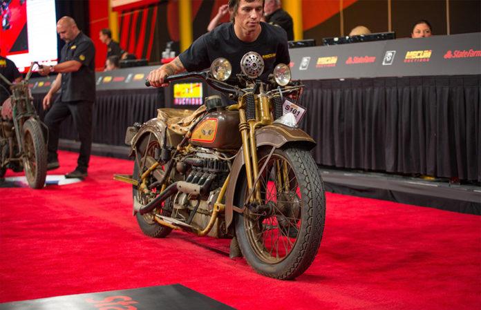 Mecum Vintage Motorcycle Auction