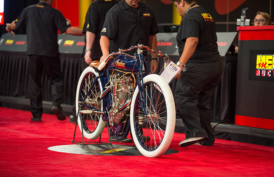 Mecum Vintage Motorcycle Auction