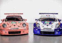 Porsche Historic 911RSR LeMans Liveries