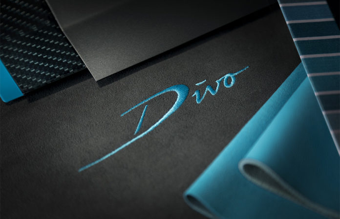 Bugatti Divo Announcement