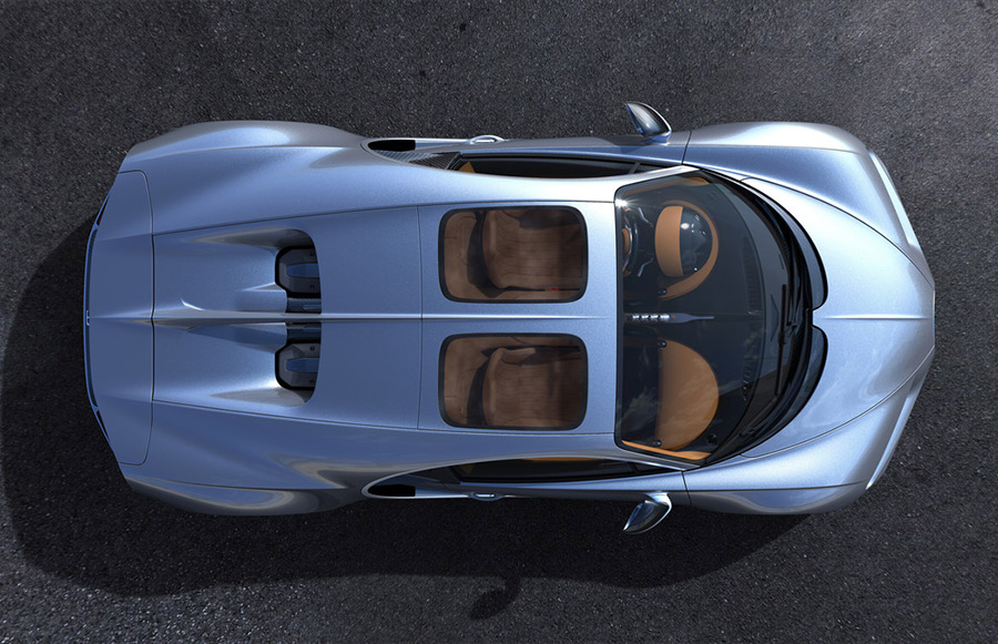 Bugatti Sky View Chiron