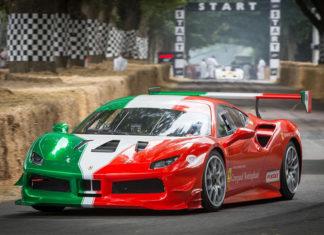 Ferrari 25th Goodwood Festival of Speed 2018