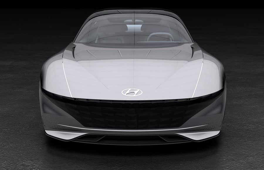 Hyundai Le Fil Rouge Concept at Concours d'Elegance of America