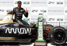 James Hinchcliffe Wins 2018 Iowa Corn 300