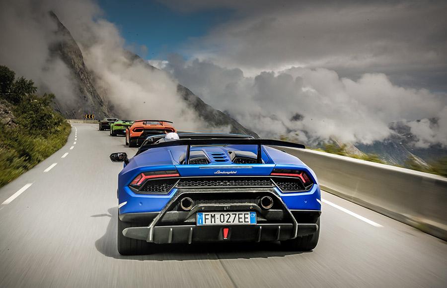 Lamborghini Avventura 2018 Expedition