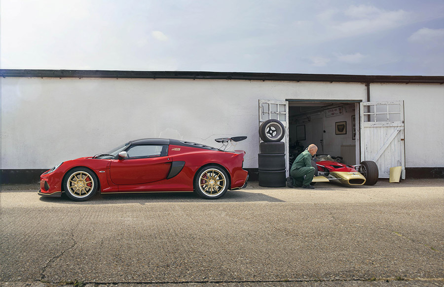Lotus Exige Type 49 Anniversary Goodwood Festival