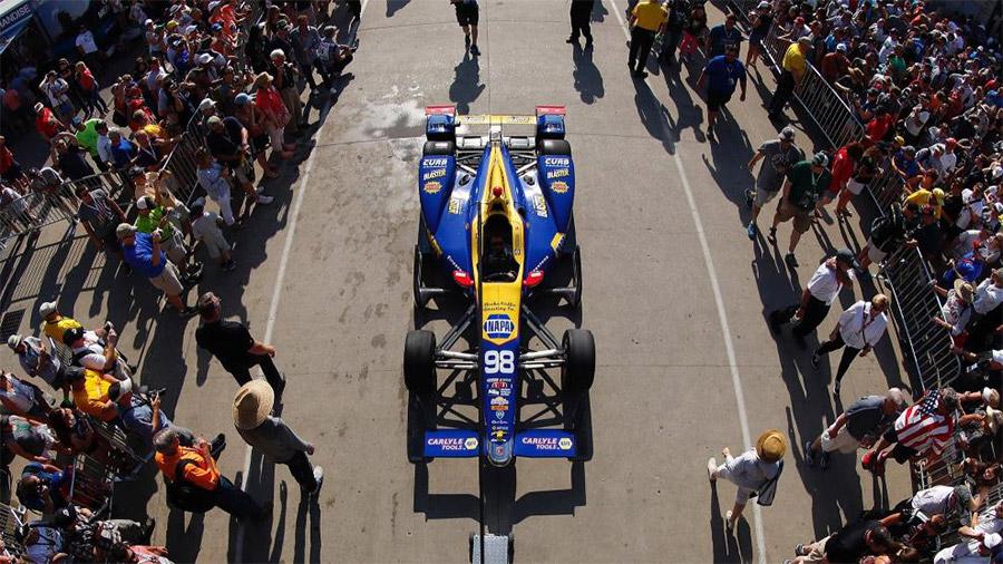 Mecum Monterey 2018 Alexander Rossi Indy 500 Winning Car