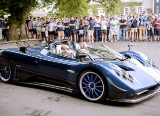 Pagani Huayra goodwood festival of speed