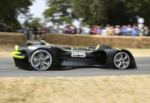 Roborace Robocar Goodwood Hill Climb