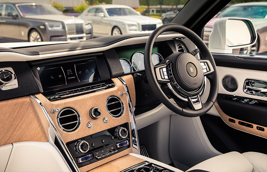 Rolls-Royce Bespoke Lineup at Goodwood Festival of Speed