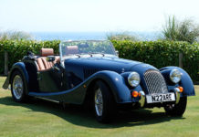 The Nare Hotel Morgan Sports Car
