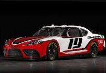 Toyota Supra Racecar Nascar Xfinity Series