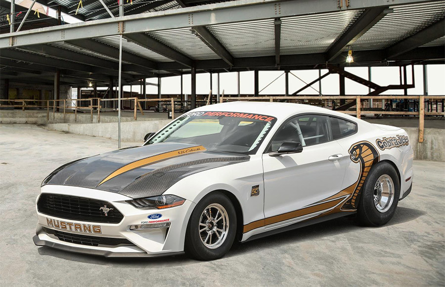 2018 Mustang Cobra Jet Race Car