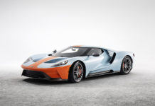 2019 Ford GT Heritage Edition Gulf Oil Paint Scheme
