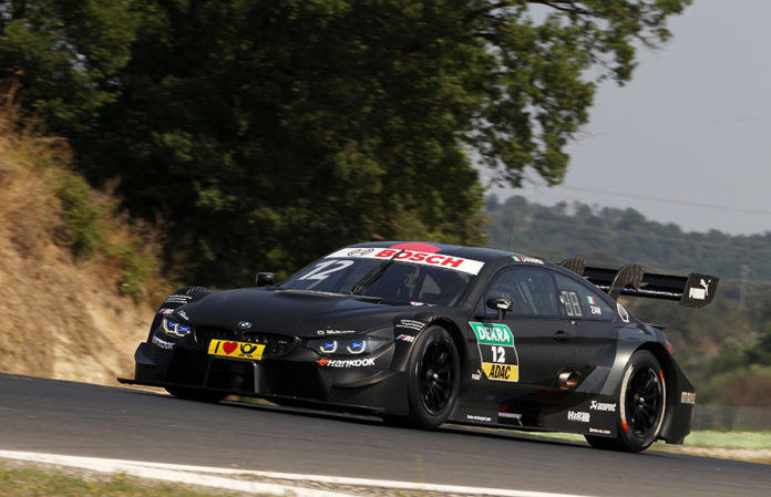 Alex Zanardi BMW M4 DTM Test