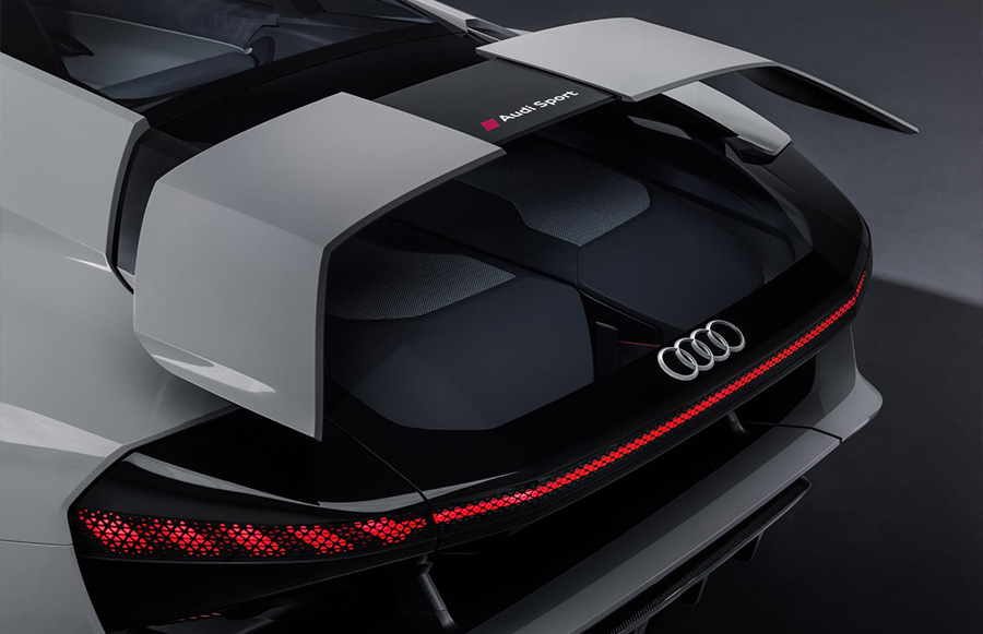 Audi PB18 e-tron Premieres at Pebble Beach