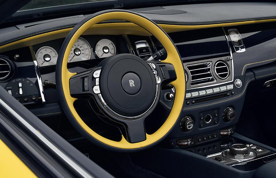 Bespoke Rolls-Royce Dawn Black Badge