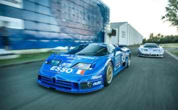 Bugatti EB110 Endurance Racing