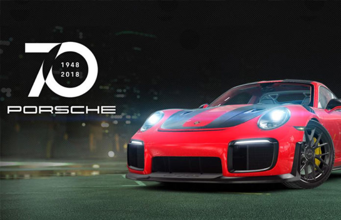 CSR Racing 2 Mark Webber Porsche GT2 RS