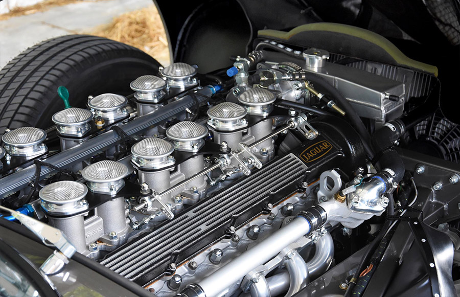 E-Type UK Restomod Jaguar V12 E-Type