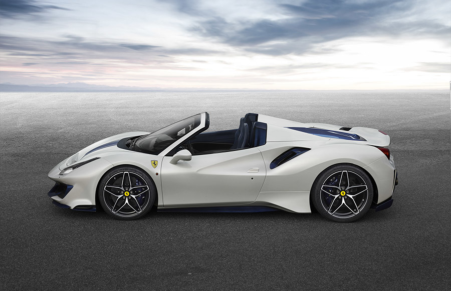 Special Series Ferrari 488 Pista Spider Pebble Beach