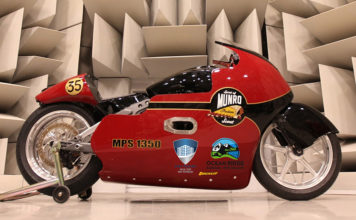 Indian Motorcycle Lee Munro Bonneville Salt Flats 200MPH Record Attempt
