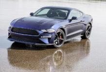 Kona Blue Ford Mustang Bullitt Raffle