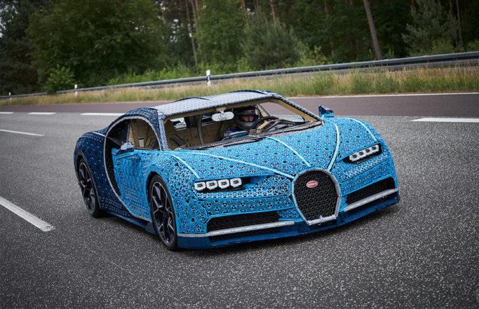 LEGO Technic Life Size Bugatti Chiron