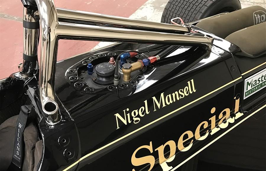 Ex Nigel Mansell Lotus 87B Ford Cosworth DFV Formula F1