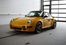 Porsche Classic 911 Turbo Project Gold