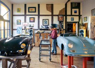 Porsche Miniature Replicas