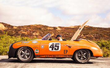 Porsche Petro-Surf on Island of Sylt