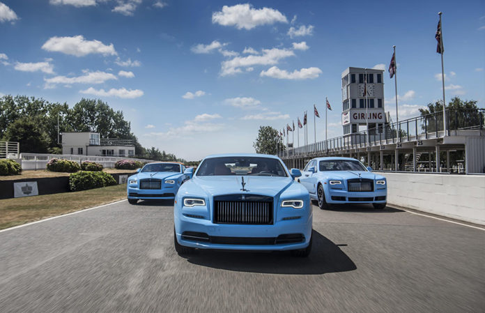 Rolls-Royce at 2018 Monterey Car Week