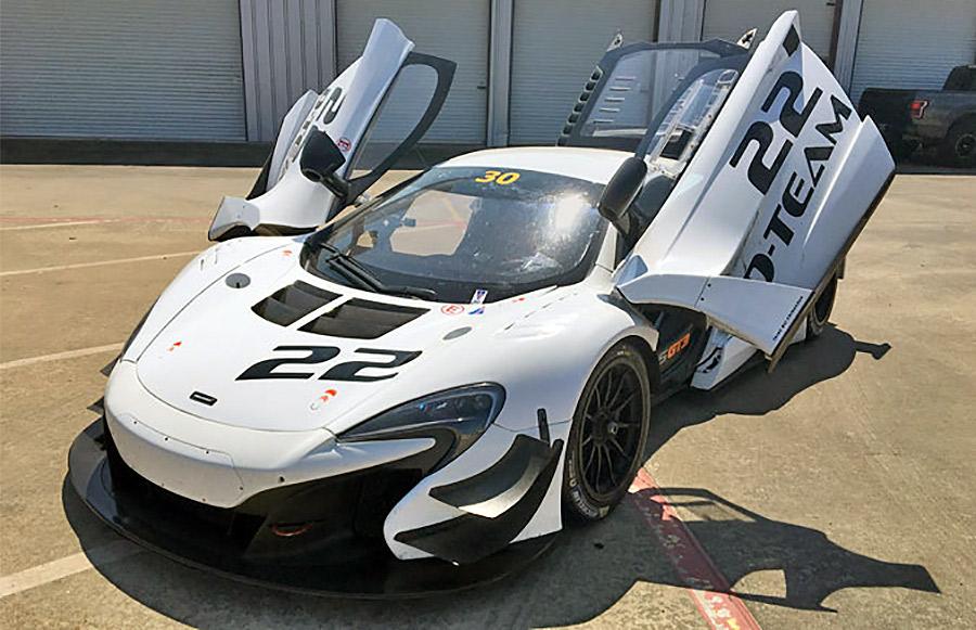 2015 McLaren 650S GT3 Serial Number 016 - The Speed Journal