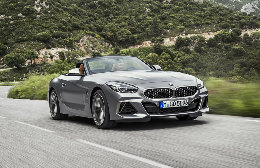 2019 BMW Z4 Roadsters Sport 255 HP and 382 HP Turbocharged ...