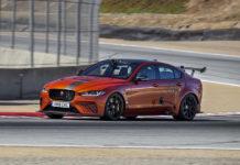 Jaguar XE SV Project 8 WeatherTech Raceway Laguna Seca Record