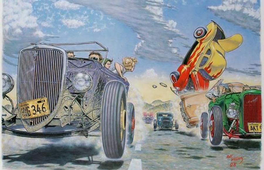 Juxtapoz Magazine Petersen Automotive Museum Exhibit