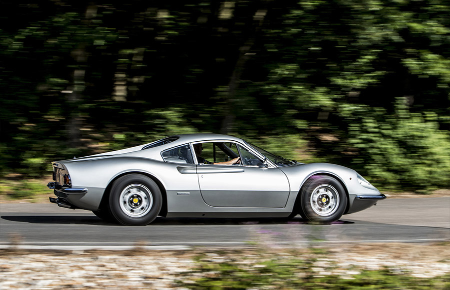 Keith Richards 1972 Ferrari Dino 246GT Bonhams Goodwood Sale