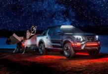 Nissan Navara Dark Sky Concept and Nissan Navara N-Guard