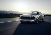 PEUGEOT e-LEGEND Autonomous Electric Car