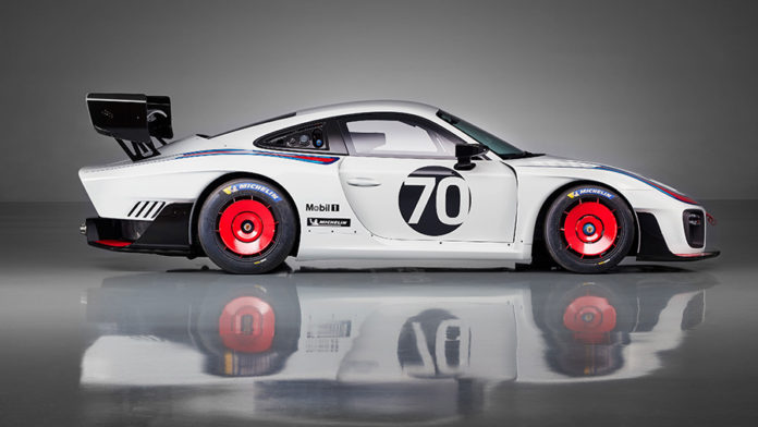 Porsche 935 at the 2018 Rennsport Reunion