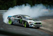 Vaughn Gittin Jr Drifts Nürburgring Nordschleife