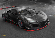 Acura NSX GT3 Evo Race Car