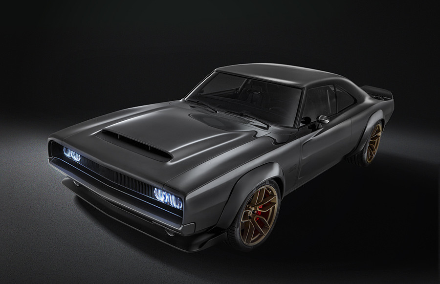 Dodge Super Charger Hellephant 426 HEMI